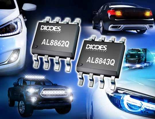 Diodes LED Drivers