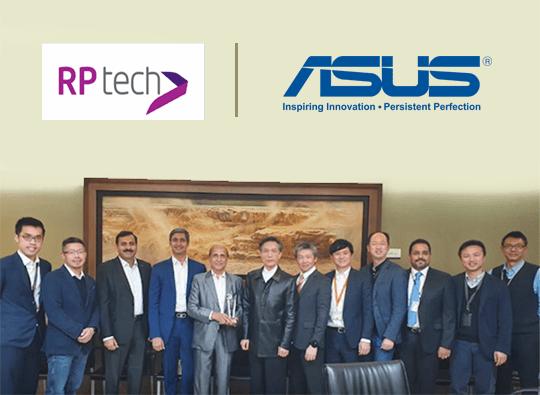 Asus RP tech 25 Years Partnership