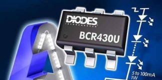 Diodes BCR430UW6 LED Driver