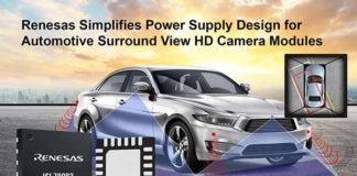 Renesas ISL78083 PMIC for Surround View Camera Systems