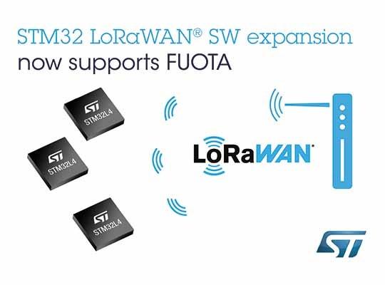 ST Secure FUOTA STM32 LoRaWAN