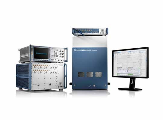 test and measurement solutions for the mobile industry