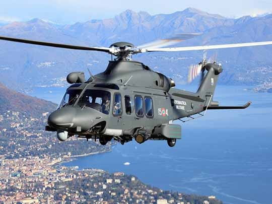 Leonardo AW139 helicopters