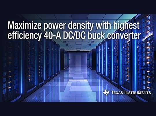 40-A DC DC buck converter