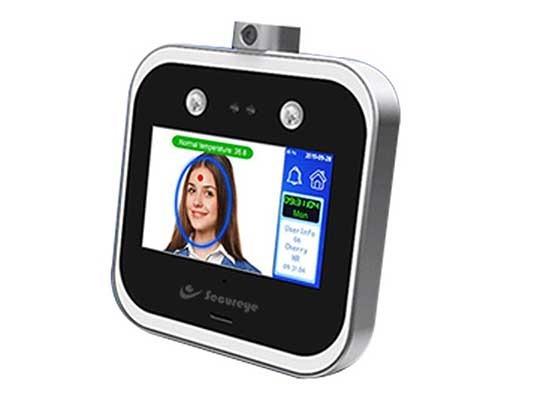 Temperature Detection Face Recognition