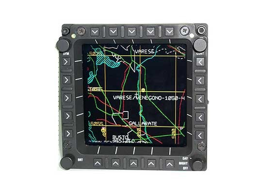Aircraft Multi-Function Display