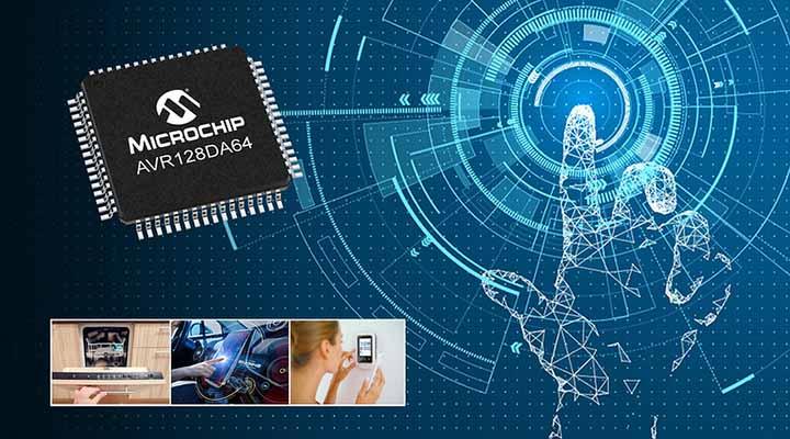 Microchip AVR DA Microcontroller