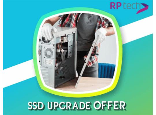 RP tech SSD Upgrade Offer