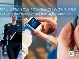Maxim's Ultra-Low-Power MCU