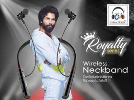 U&i Royalty Wireless Neckband