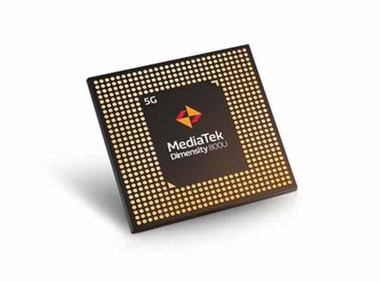 MediaTek Dimensity 800U 5G chipset