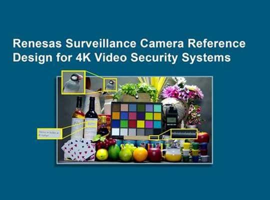 Renesas Surveillance Camera Reference Design