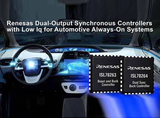 Renesas Two Synchronous Controllers