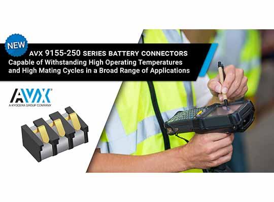 AVX Battery Connector