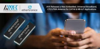 AVX511 Universal Broadband FR4 Embedded LTE Antenna