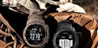 GPS enabled instinct smartwatches