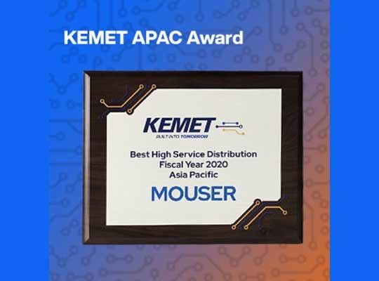 KEMET award