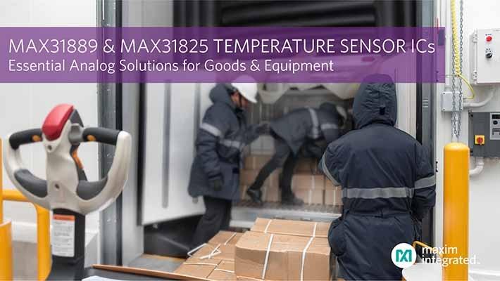 MAX31889 and MAX31825 PR Graphic
