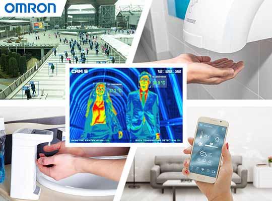 Omron optical sensors