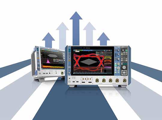 R&S RTO2000 or R&S RTP oscilloscope