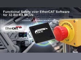 Renesas RX functional safety over ethercat sofware