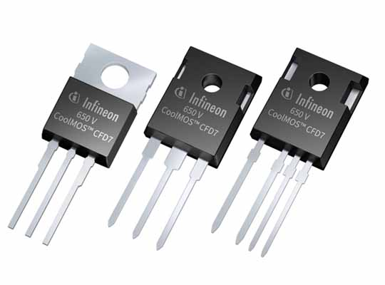 Infineon 650V CoolMOS CFD7