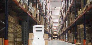 mobile logistics robot