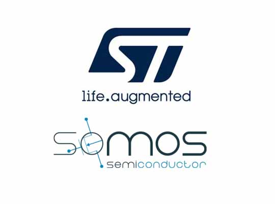 STMicroelectronics acquisition SOMOS Semiconductor
