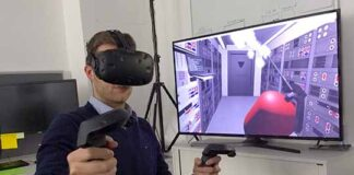 VR Technology with Electronics