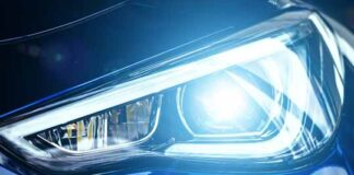 electric vehicles headlamp