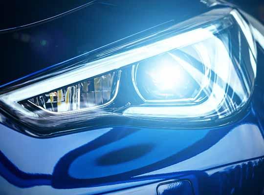 electric vehicles headlamp