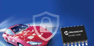 Microchip CryptoAutomotive security IC
