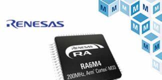 Renesas RA6M4 MCUs