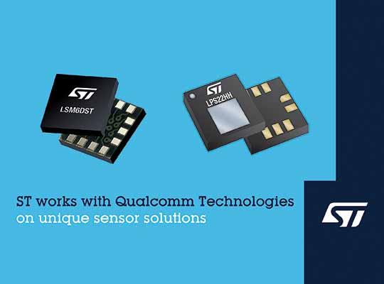 ST Qualcomm sensor cooperation