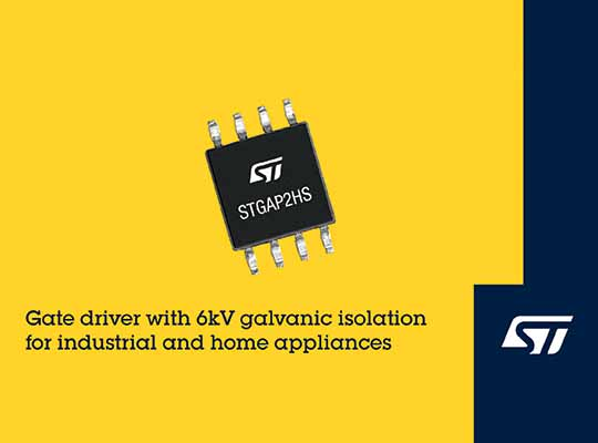 STMicroelectronics STGAP2HS HV Gate Driver