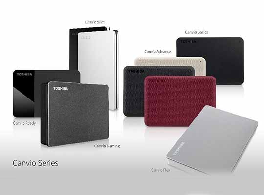 Toshiba Canvio portable Storage