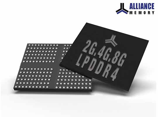Alliance Memory LPDDR4 SDRAMs