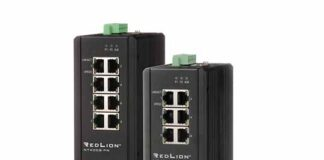 Red Lion NT4008 Ethernet switch