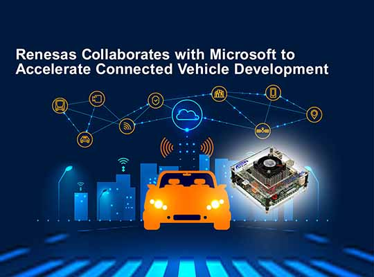 R-Car Connected Vehicles