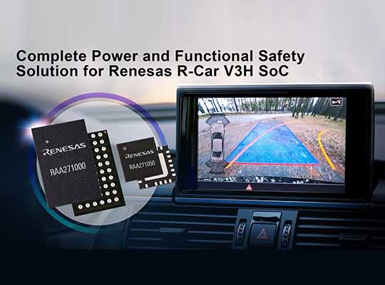 Renesas Power and Functional Safety Solution