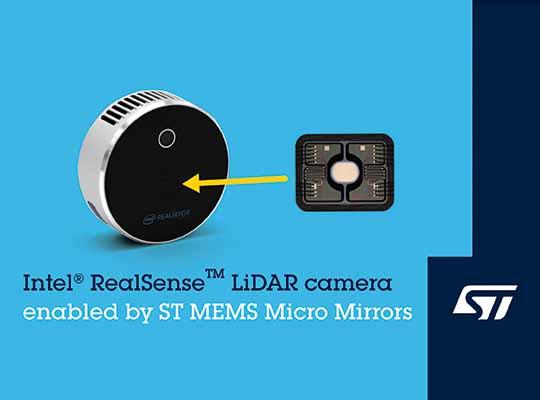 ST MEMS Micro Mirrors