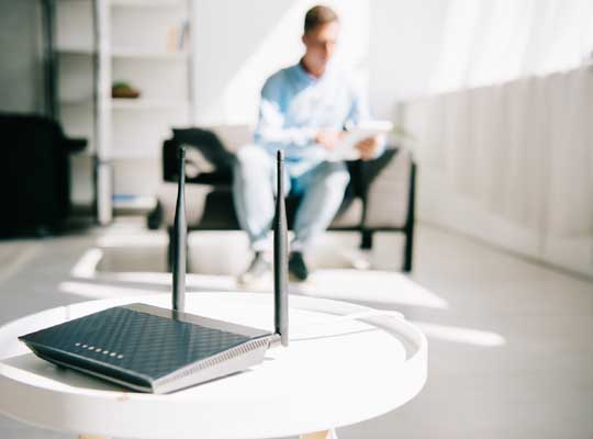 Keentic wifi router