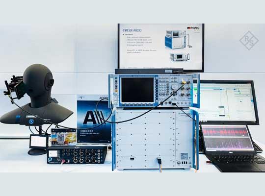 VoNR HEAD acoustics web w1300 hX