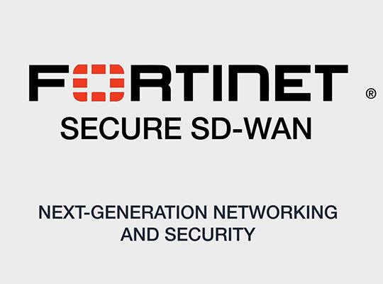 Fortinet Secure SDWAN