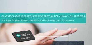 Maxim Speaker Amplifier