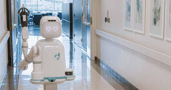 Diligent's Moxi robot assists