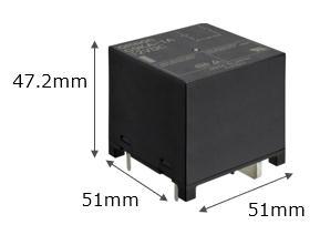 High Power PCB Relay