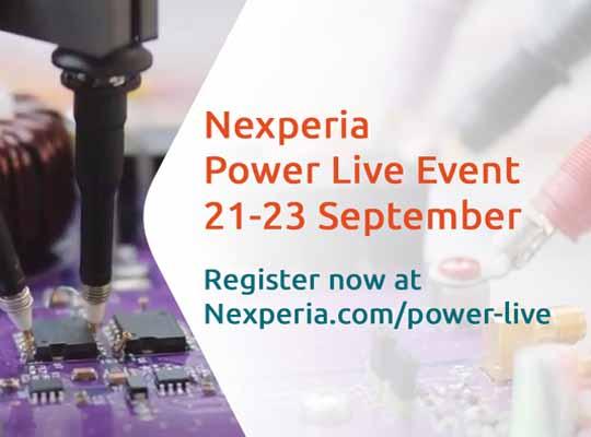 Nexperia Power live banner