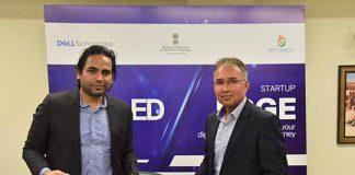 Jitendra Vijayvargiya, CEO, MeitY Startup Hub and Sudiip Goswami, Director & General Manager - South India & Start-Ups, Dell Technologies