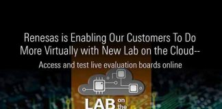 Renesas New Lab On The Cloud